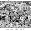 Party Animals Original Art by Howard Teman