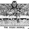 The Final Supper Original Art By Howard Teman