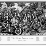 The Silver Screen Gang Poster 24 x 36 in.