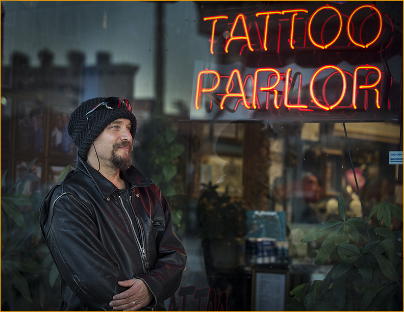 Howard Teman Tattoo Parlor